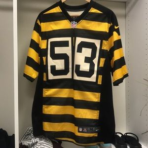 Steelers Pouncey Throwback Jersey